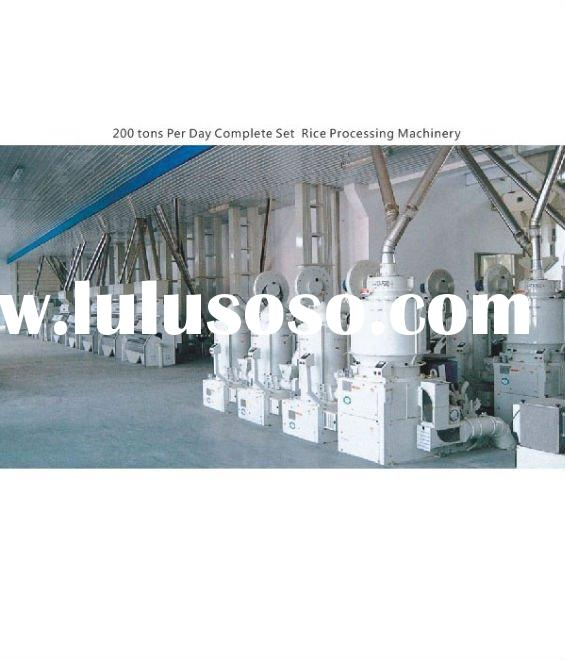 Complete Set Rice Processing Machinery
