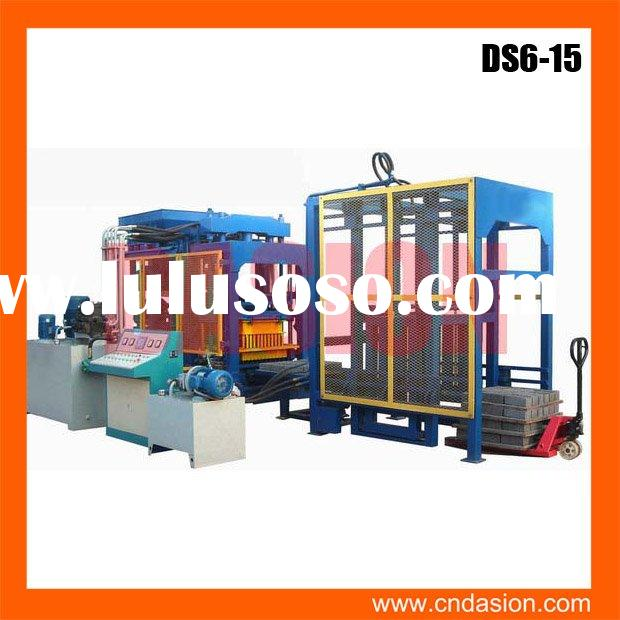 DS6-15 block making machine suppliers in south africa