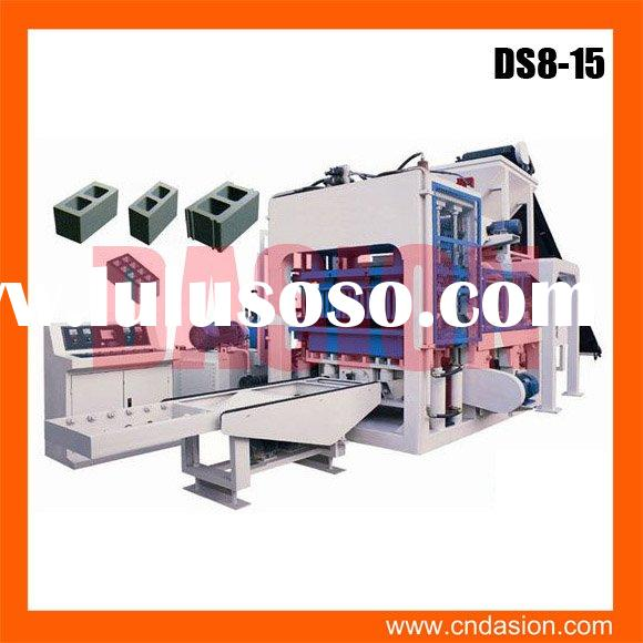 DS8-15 building blocks machinery for sale
