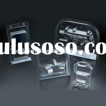 Disposable Clear PVC Blister Plastic Cover Package Tray