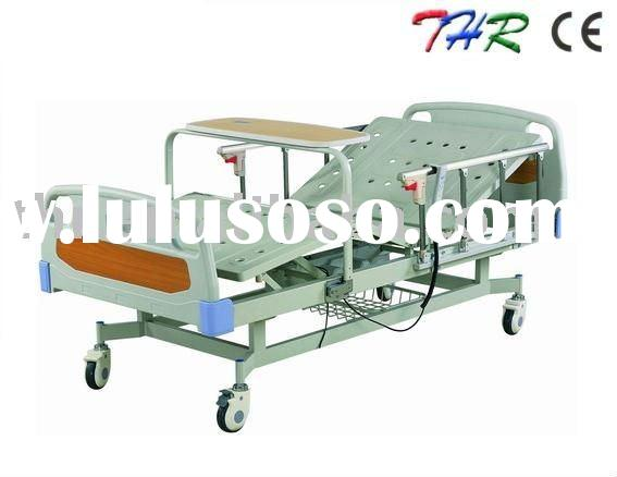 Electric hospital bed with 2 function