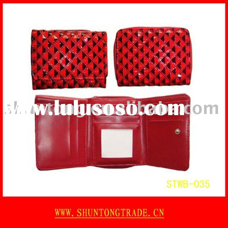 Factory wholesale fashion wallet and purse