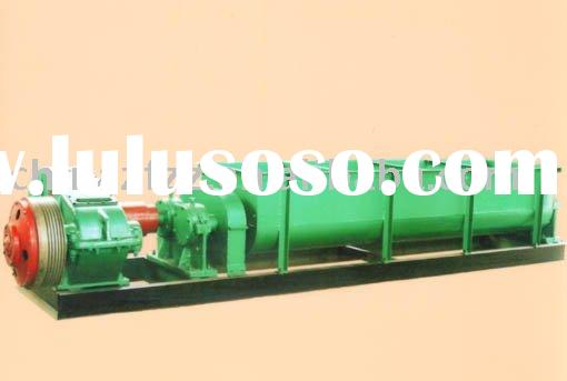 Mixer in building materials processing machinery