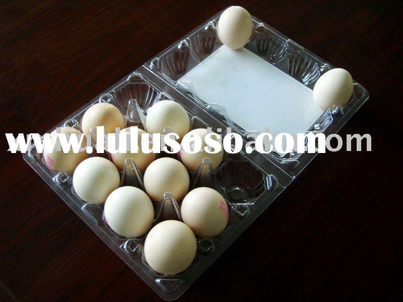 PET blister plastic egg tray