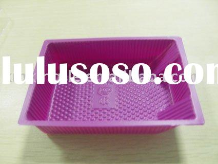 Pink Food Service Tray