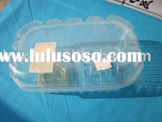 Plastic Blister Food container with lid