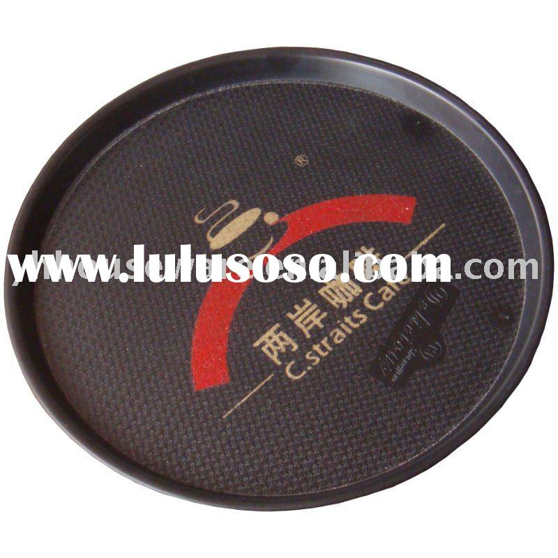Round Plastic Food Serving Tray