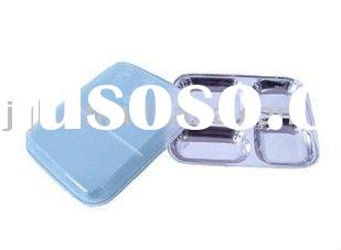 SS18/8 Stainless Steel Fast Food Tray