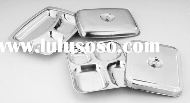 Stainless steel Mess tray with lid