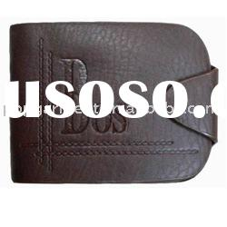 brand men's genuine leather wallets