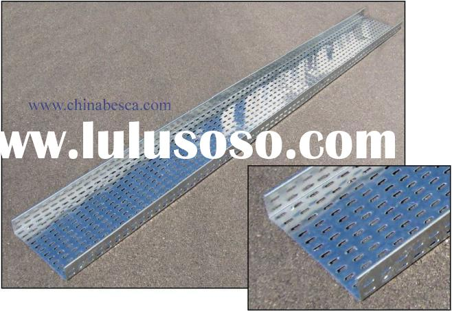 cable tray  ,cable trunking  ,cable accessory ,perforated cable tray / cable tray systems
