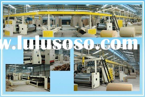 carton making machinery generalize of corrugated cardboard production line