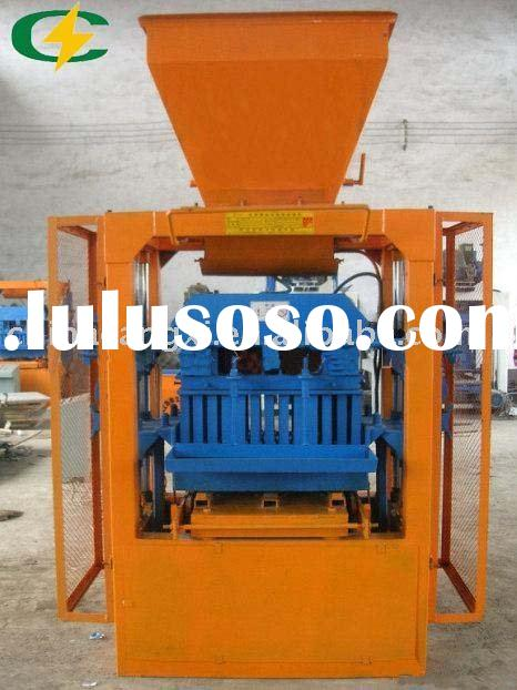 concrete  brick making machine/adobe brick making machine