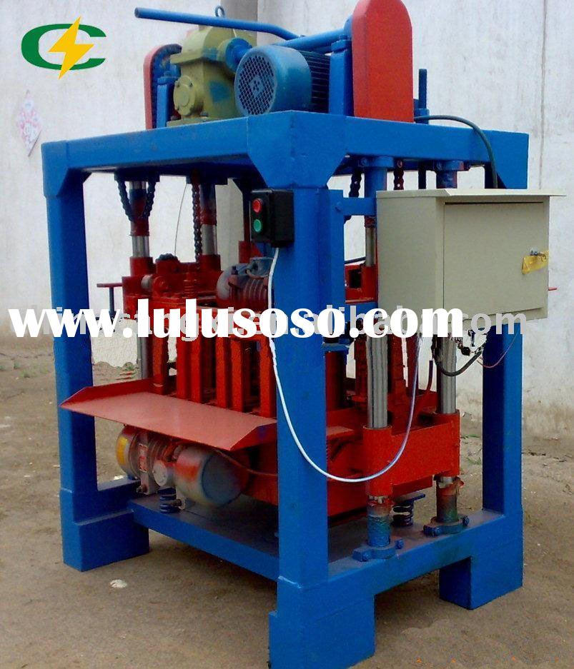 concrete brick making machine/mobile block  machinery