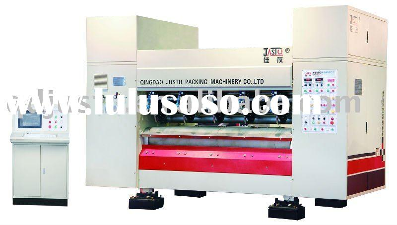 corrugated box making machinery -servo-driven NC thin blade slitter scorer