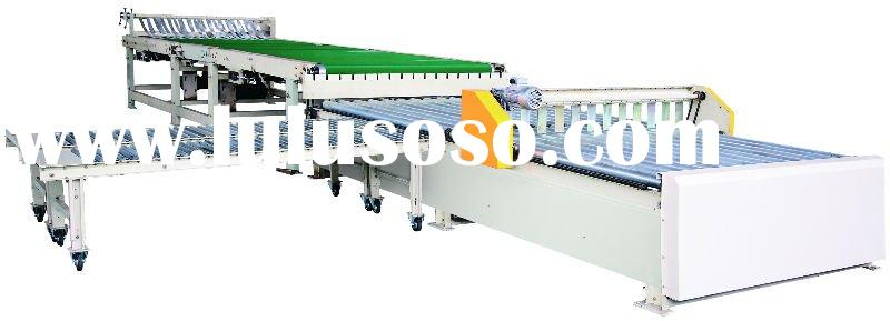 corrugated carton box making machinery - CNC Horizontal Conveyor Stacker