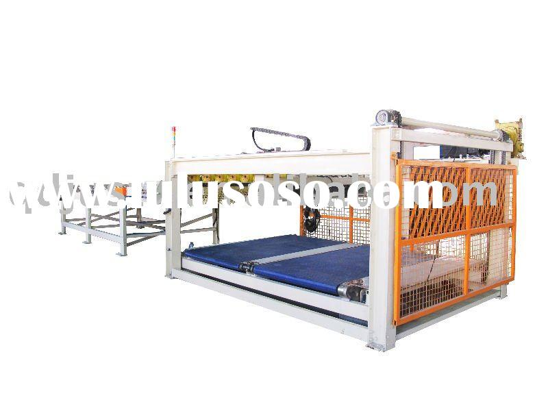 corrugated carton box making machinery -automatic hanging basket stacker