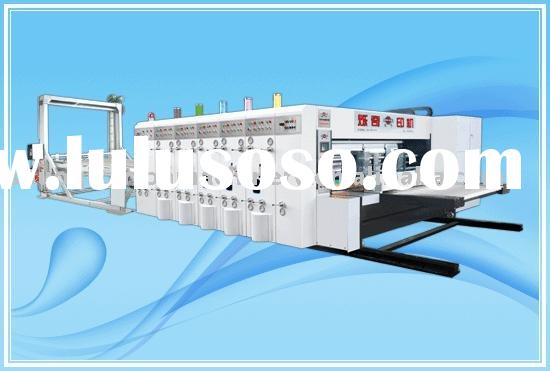 corrugated paper box making machinery SQ500 Series of High-speed Die-cutting Slotted Machine