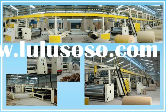 corrugated paper box making machinery generalize of corrugated cardboard production line