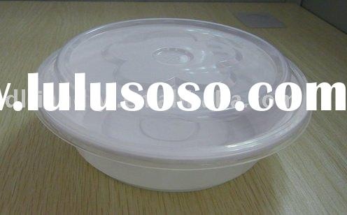 disposable plastic food container/box/tray