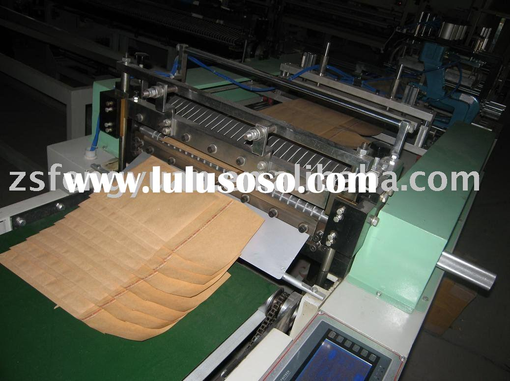 kraft paper bubble film envelope making machine
