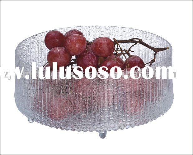 large Transparent plastic tray