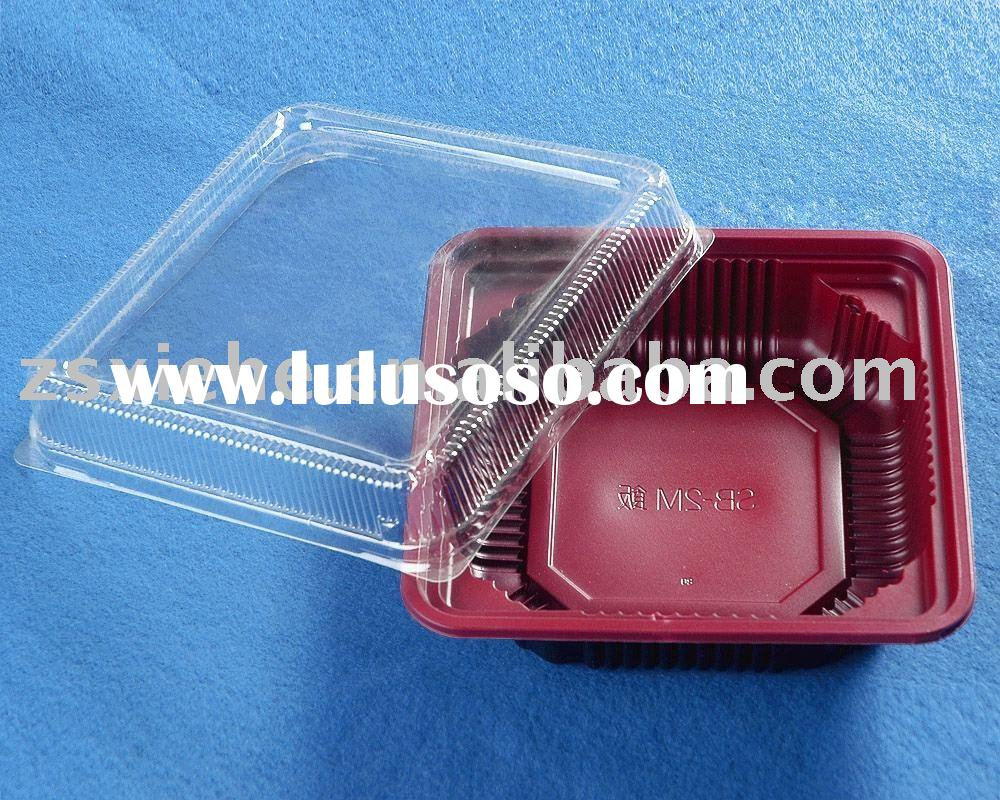 plastic food container, plastic food tray, food packing