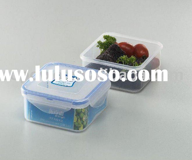 small food storage plastic airtight container