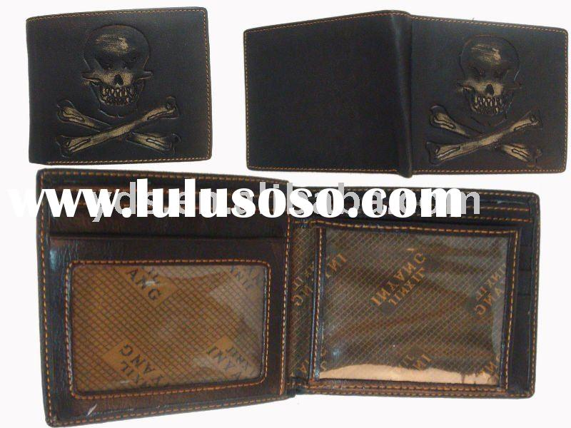 wholesale fashion real leather wallets for men