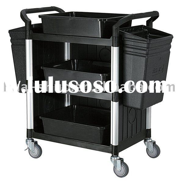 Catering food service cart 3 Shelf