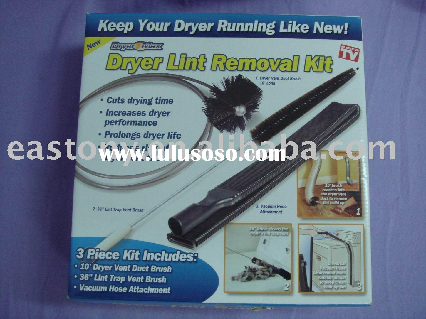 Dryer lint remover kit,dryer lint remover,lint remover kit,dryer lint brush,lint cleaner,dryer lint