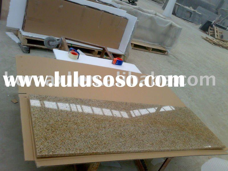Golden Sand Granite Fireplace Hearth