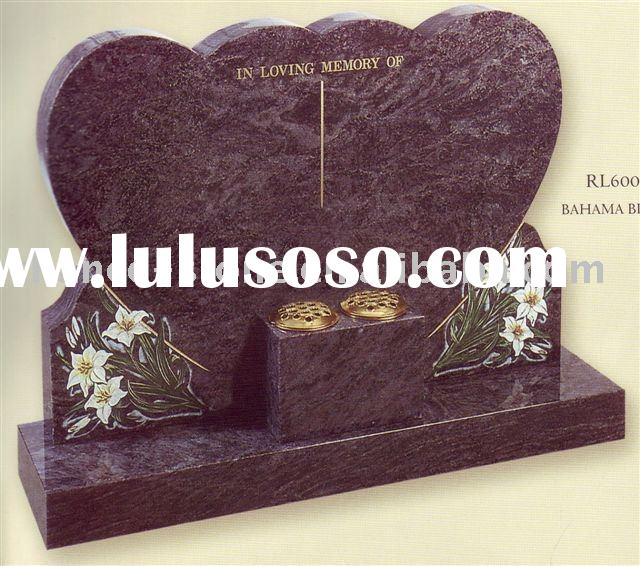 Heart monument/headstone/tombstone
