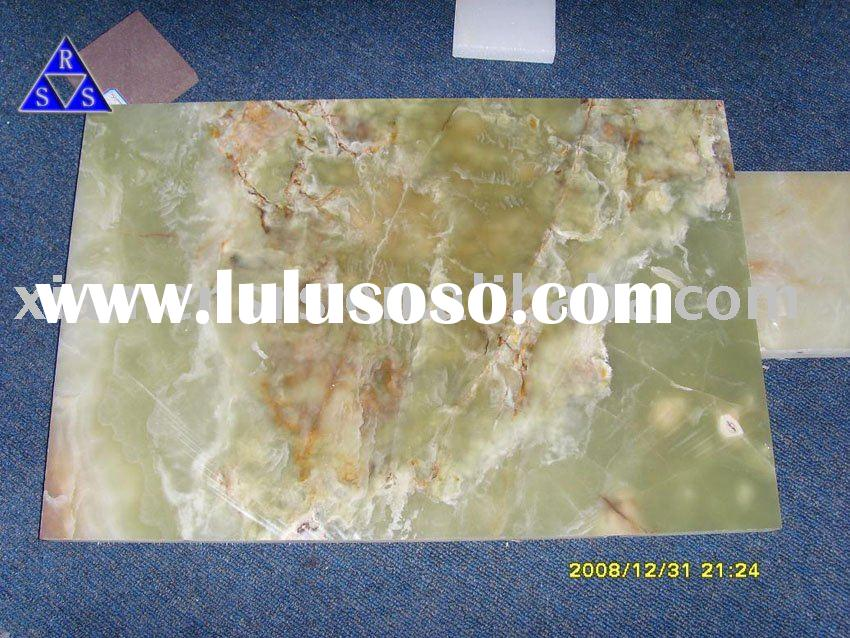 Iranian green marble Natural Green Onyx marble polished tile