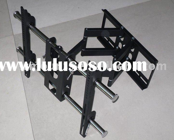 Luxury TV Wall Bracket&Articulating Wall Mount&Stainless-Pipe Dual Arm  For 32'&
