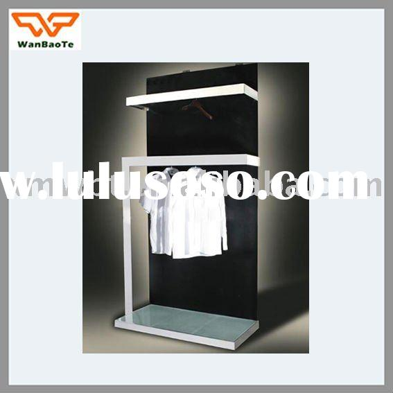 Modern Design of Metal Clothes Shelf Display Rack