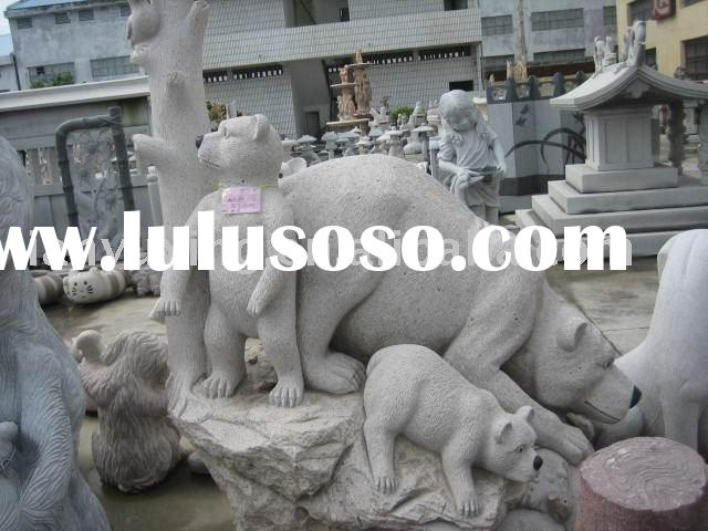 animal carving stone