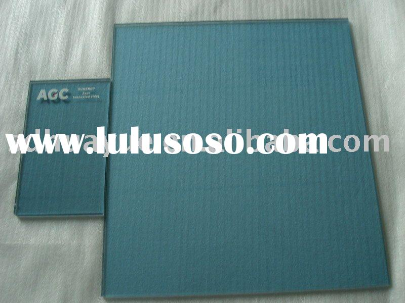 blue green float glass