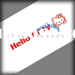 hello kitty car sticker design high quality