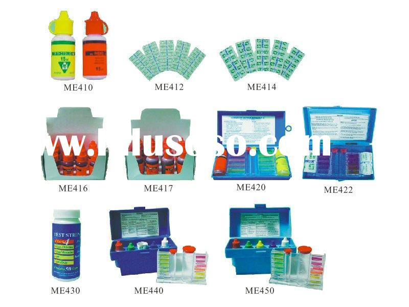 swimming pool cleaning equipment - test kits
