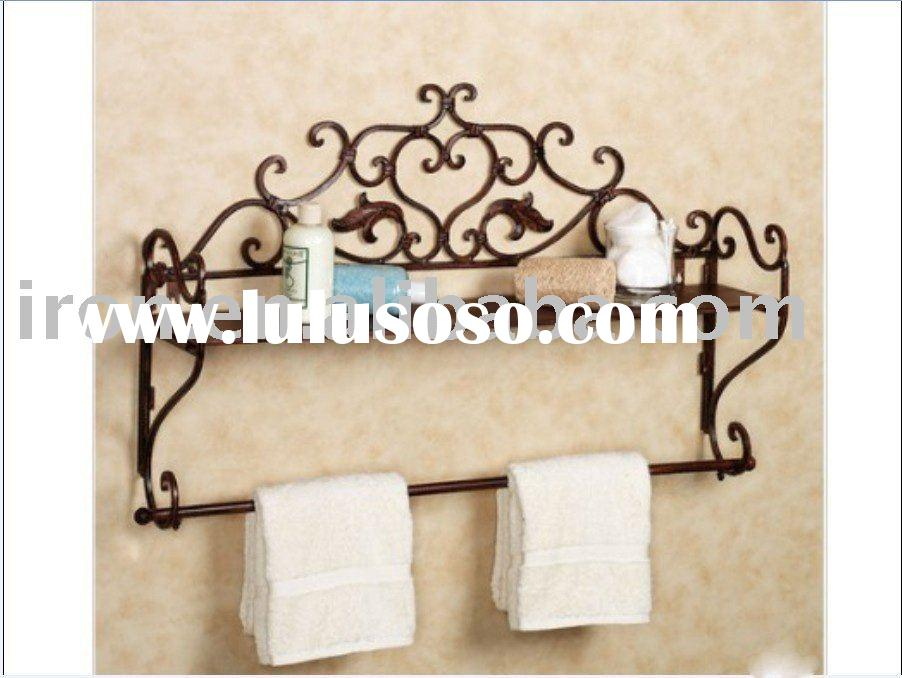 Genial Wrought Iron Towel