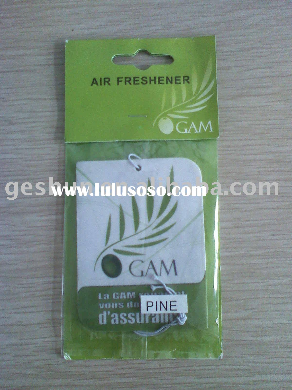 Air freshener card/paper air freshener/car air freshener
