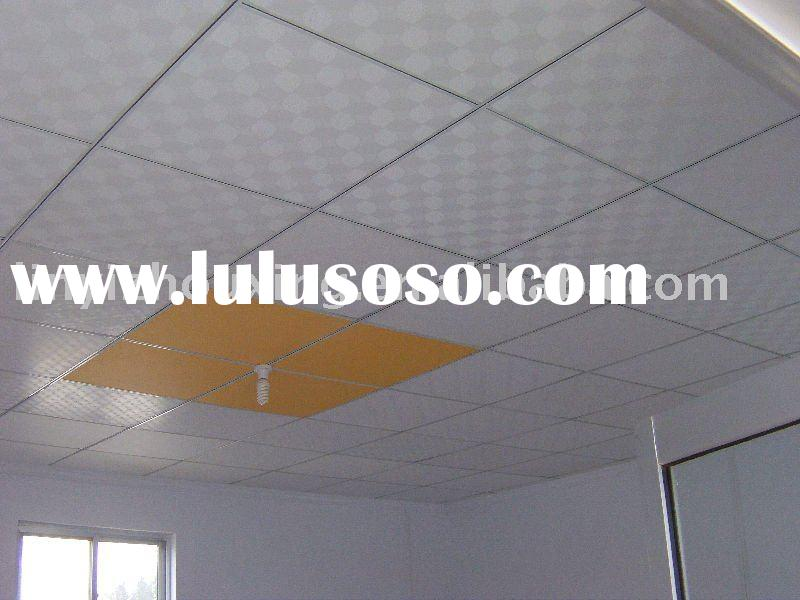 Ceiling decorative PVC gypsum ceiling tile
