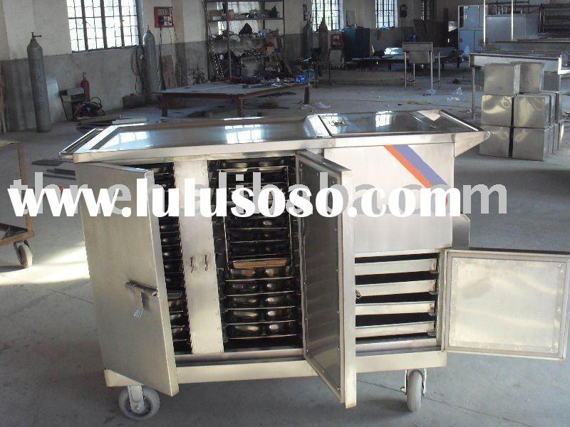Economic stainless steel hospital food cart(THR-FC002)