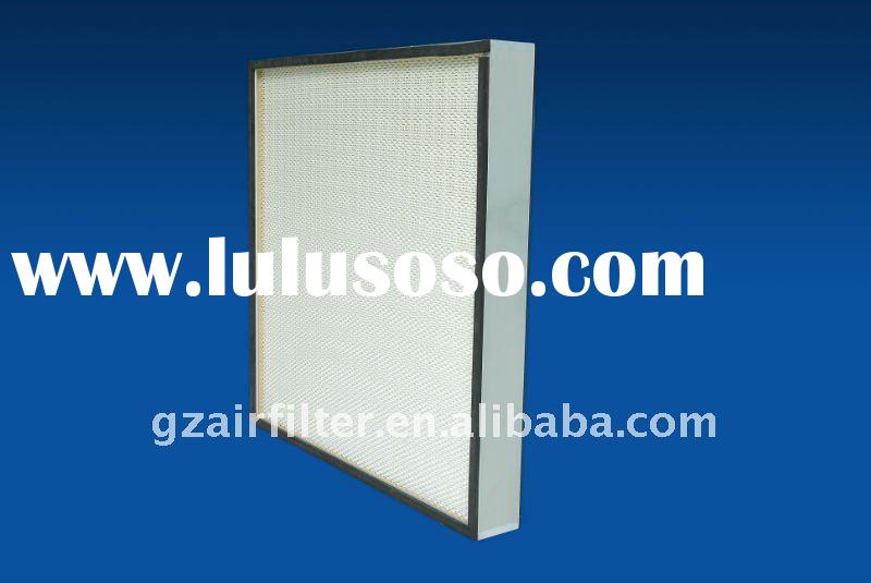 HEPA Mini-pleated filter,high efficiency filter,Air Cleaner Filter