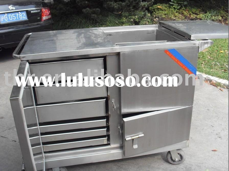 Stainless steel hospital food cart(THR-FC002)