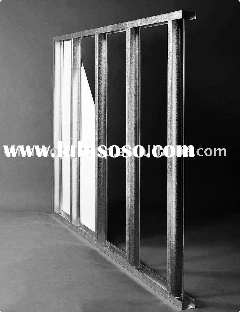 Steel Furring Channel ,Dry wall stud ,track furring ,metal stud track channel ,Dry wall steel system