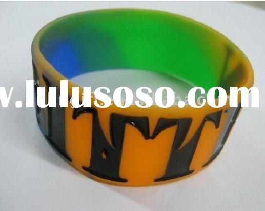 Debossed Wristbands | Cheap Custom Debossed Silicone Bracelets