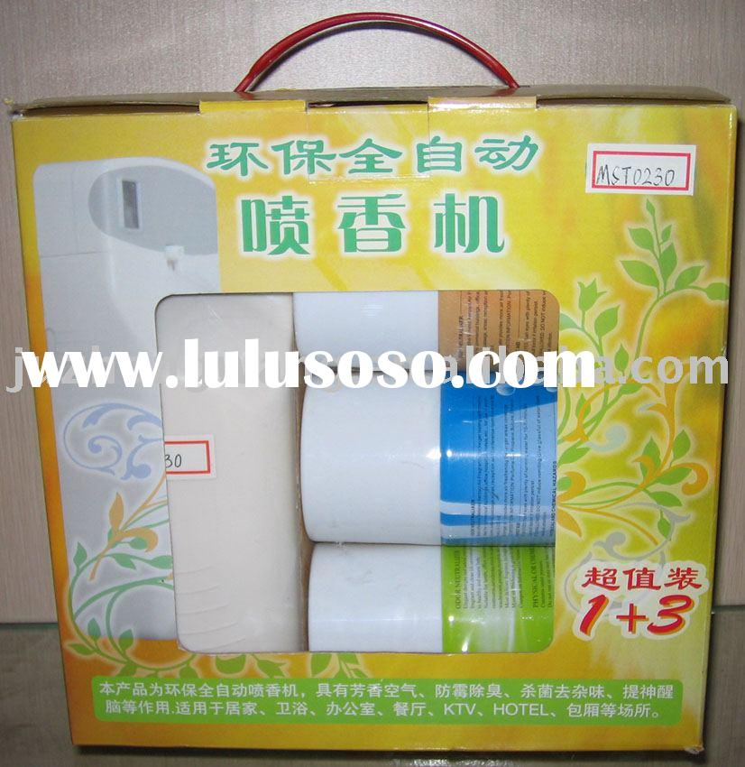 automatic aerosol dispenser with automatic air freshener