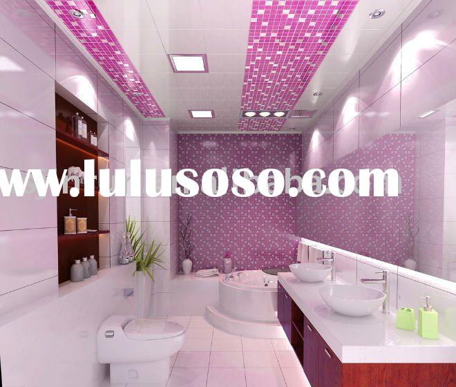 bathroom decorative pvc panel  for ceiling  and wall